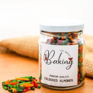 Coloured Almonds (250ml)